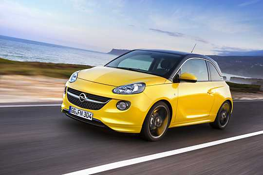Front/Side  of Opel Adam 2015