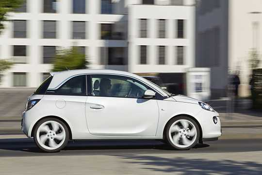 Side  of Opel Adam 2015