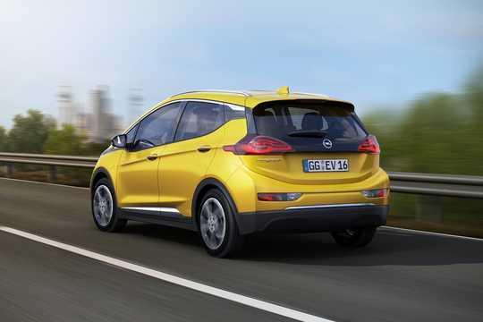 Back/Side of Opel Ampera-e 30 kWh Single Speed, 204hp, 2017