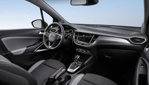 Interior of Opel Crossland X 1st Generation