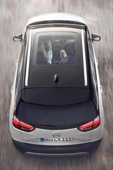Top  of Opel Crossland X 1st Generation
