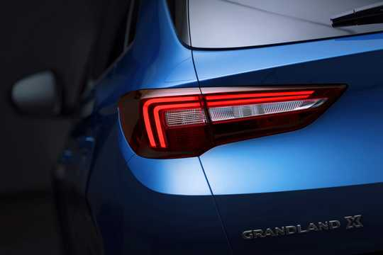 Close-up of Opel Grandland X 1st Generation
