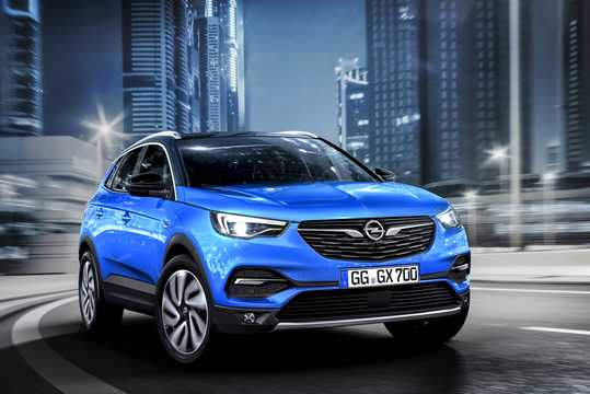 Front/Side  of Opel Grandland X 1st Generation