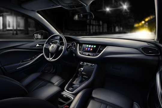 Interior of Opel Grandland X 1st Generation