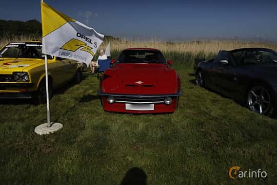 Front  of Opel GT 1900 1.9 Manual, 90ps, 1969 at Tjolöholm Classic Motor 2018