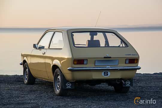 Back/Side of Opel Kadett 1200 S City 1.2 Manual, 60ps, 1976