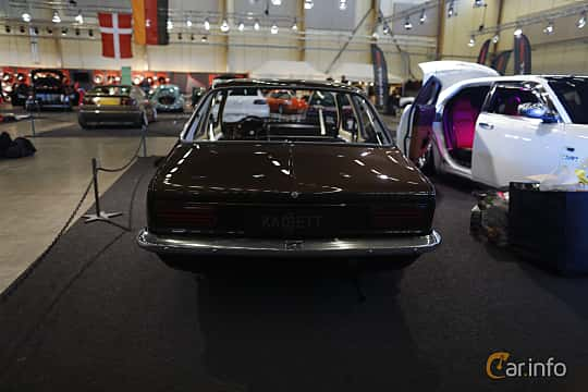Back of Opel Kadett Coupé 1979 at Bilsport Performance & Custom Motor Show 2019
