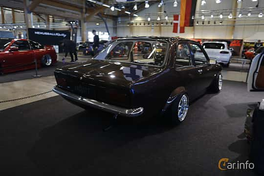 Back/Side of Opel Kadett Coupé 1979 at Bilsport Performance & Custom Motor Show 2019