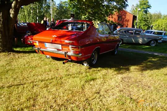 Back/Side of Opel Rallye-Kadett 1900 S 1.9 Manual, 90ps, 1970 at Onsdagsträffar på Gammlia Umeå 2019 vecka 30