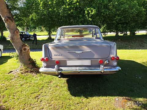 Back of Opel Rekord 2-door 1.7 Manual, 55ps, 1962 at Eddys bilträff Billesholm 2019 Tema Opel och Chevrolet