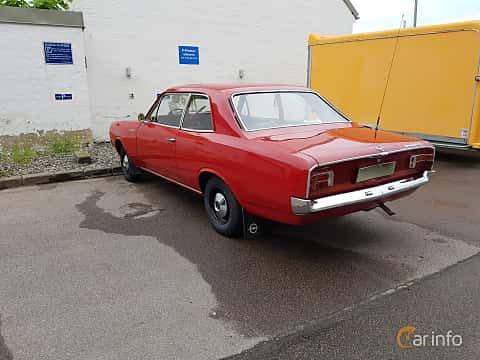 Back/Side of Opel Rekord 2-door 1.7 S Manual, 75ps, 1968