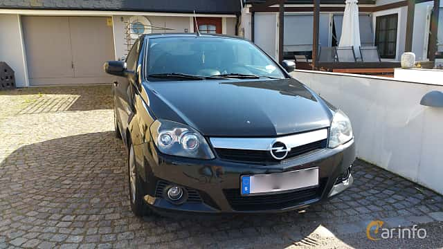 opel tigra twintop 1 8 manual 125hp 2005. Black Bedroom Furniture Sets. Home Design Ideas