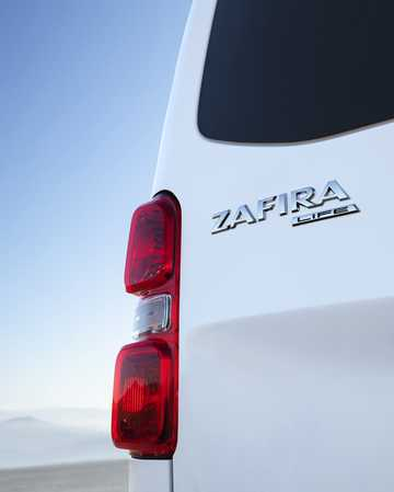 Close-up of Opel Zafira Life 4th Generation