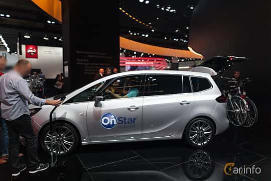 Opel Zafira Tourer 20 Cdti Automatic 170hp 2016