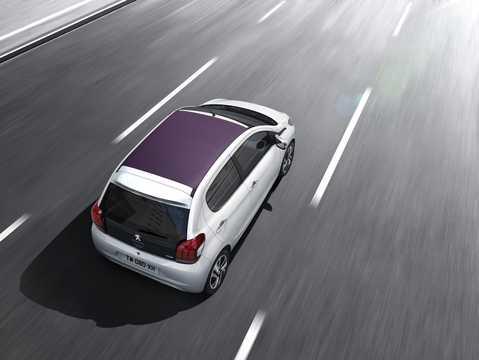 Back/Side of Peugeot 108 TOP! 5-door 1st Generation