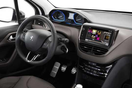 Interior of Peugeot 2008 2013