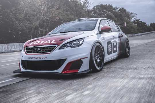 Front/Side  of Peugeot 308 Racing Cup 1.6 Sequential, 308hp, 2015