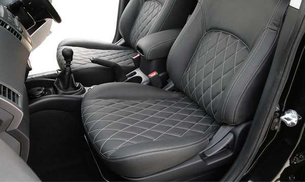 Interior of Peugeot 4007 2008