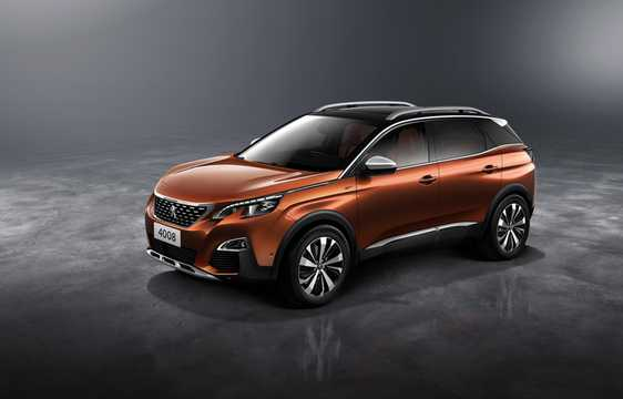 Front/Side  of Peugeot 4008 1.6 HDi FAP AWD Manual, 114hp, 2016