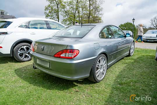 Back/Side of Peugeot 406 Coupé 3.0 V6 Manual, 207ps, 2001 at Fest För Franska Fordon  på Taxinge slott 2019