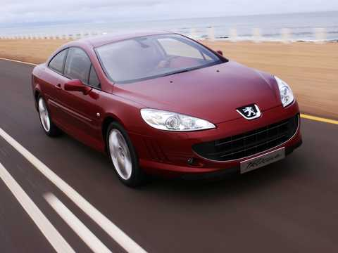 Front/Side  of Peugeot 407 Prologue 2.7 V6 TipTronic, 203hp, 2005