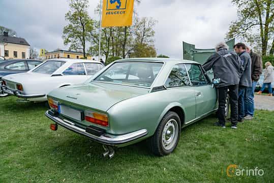 Back/Side of Peugeot 504 Coupé 2.7 V6 Manual, 144ps, 1978 at Fest För Franska Fordon  på Taxinge slott 2019