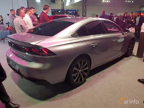 Back/Side of Peugeot 508 2018 at Warsawa Motorshow 2018