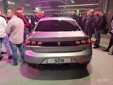 Back of Peugeot 508 2018 at Warsawa Motorshow 2018