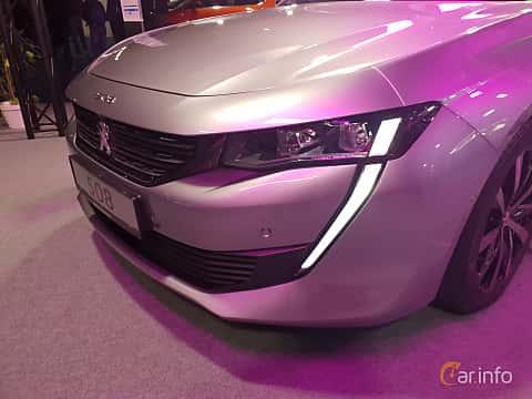 Close-up of Peugeot 508 2018 at Warsawa Motorshow 2018