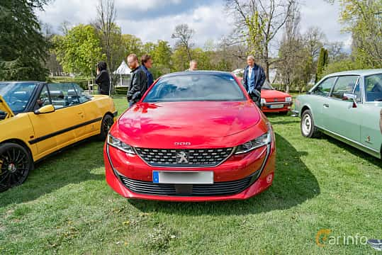 Front  of Peugeot 508 GT 1.6 PureTech EAT, 225ps, 2018 at Fest För Franska Fordon  på Taxinge slott 2019