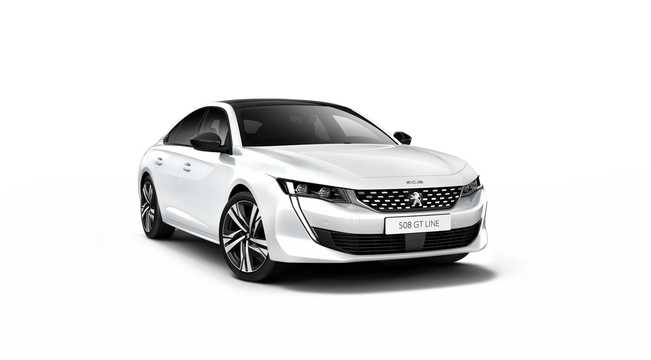 Front/Side  of Peugeot 508 2nd Generation