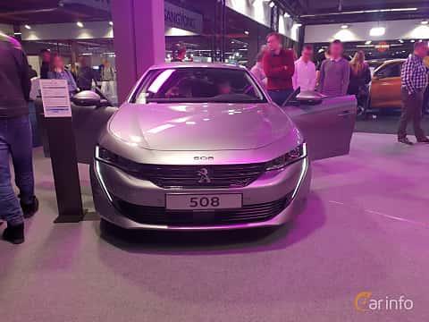 Front  of Peugeot 508 2018 at Warsawa Motorshow 2018
