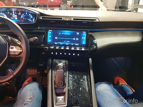 Interior of Peugeot 508 2018 at Warsawa Motorshow 2018