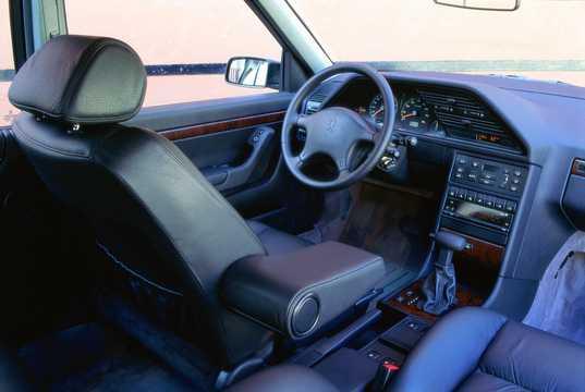 Interior of Peugeot 605 1994