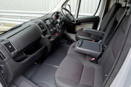 Interior of Peugeot Boxer Crew Van 2015