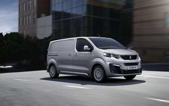 Front/Side  of Peugeot Expert Panel Van 2016