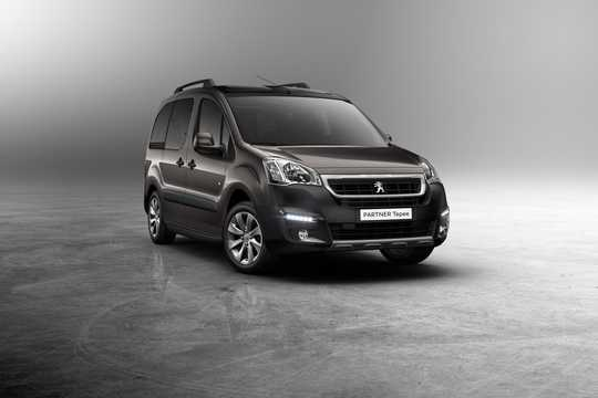 Front/Side  of Peugeot Partner Tepee 2016