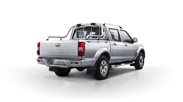 Back/Side of Peugeot Pick Up 2017