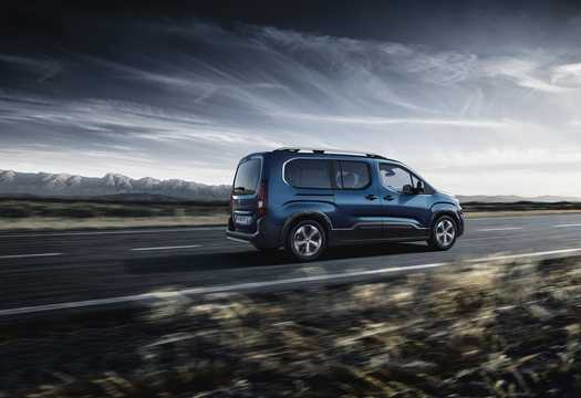 Back/Side of Peugeot Rifter 2019