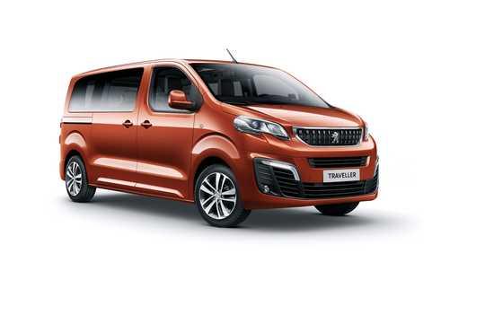 Front/Side  of Peugeot Traveller 1st Generation