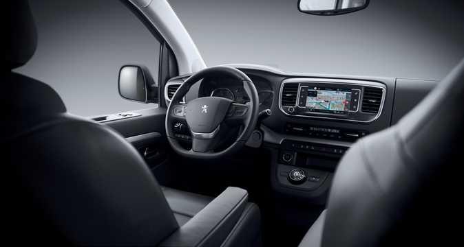 Interior of Peugeot Traveller 1st Generation