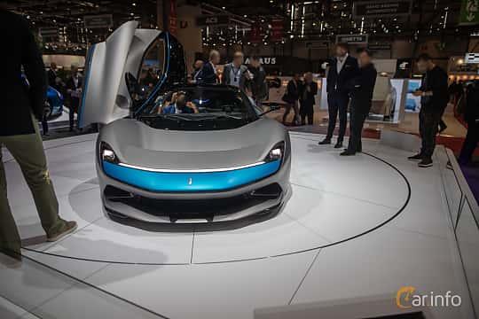 Front  of Pininfarina Battista 120 kWh AWD Single Speed, 1903ps, 2020 at Geneva Motor Show 2019