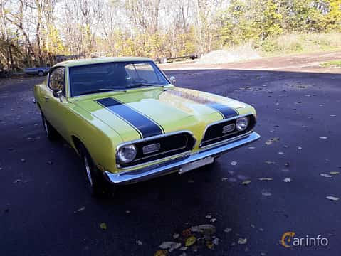 Front/Side of Plymouth Barracuda Coupé 5.2 V8 TorqueFlite, 233ps, 1969