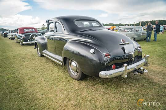 Back/Side of Plymouth Deluxe Coupé 3.6 Manual, 95ps, 1947 at Power Big Meet 2016
