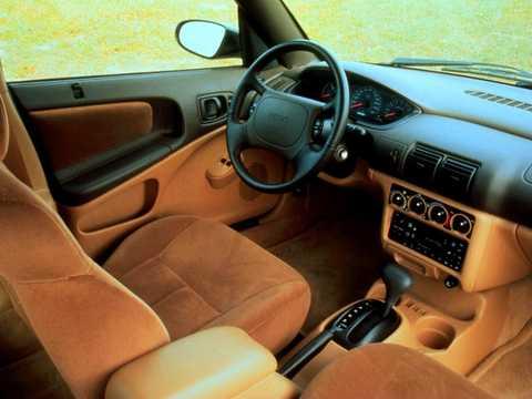 Interior of Plymouth Neon Sedan 1996