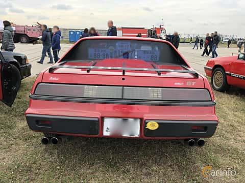Back of Pontiac Fiero 1985 at Old Car Land no.2 2019