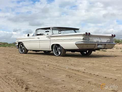 Back/Side of Pontiac Star Chief Vista 6.4 V8 Hydra-Matic, 218ps, 1960