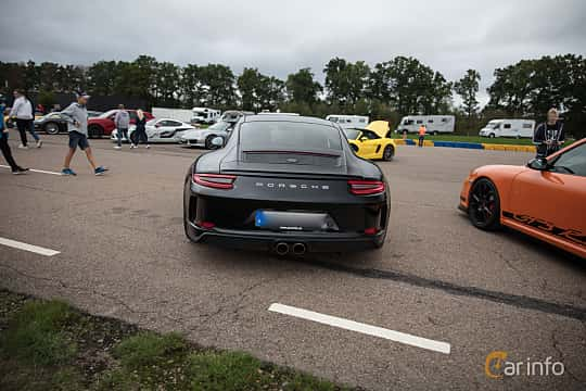 Back of Porsche 911 GT3 4.0 H6 Manual, 500ps, 2018 at Autoropa Racing day Knutstorp 2018