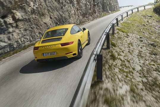 Back/Side of Porsche 911 Carrera T 3.0 Manual, 370hp, 2018
