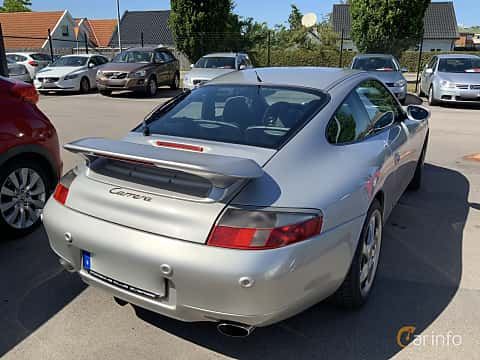 Back/Side of Porsche 911 Carrera 3.4 H6 TipTronic, 300ps, 1998